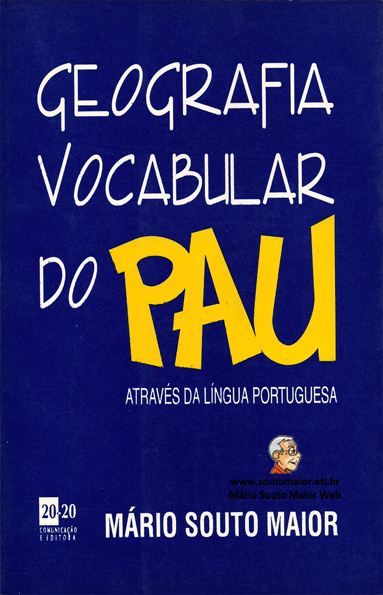 Capa da Geografia Vocabular do Pau